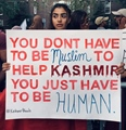 You dont have to Muslim to help Kashmir You just have to Human - Indian occupied Kashmeer Bleeds