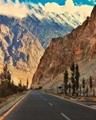 Karakoram Highway towards China Gilgit Baltistan - Pakistan