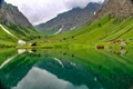 Rainbow lake  located in Domail  Astore- Pakistan
