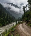 Breathtaking way between Taobut and Kel- Neelum Valley - Pakistan