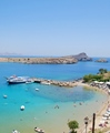 Lindos Bay Rhodes Greece