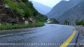 KKH near Bisham - after heavy rain - Pakistan