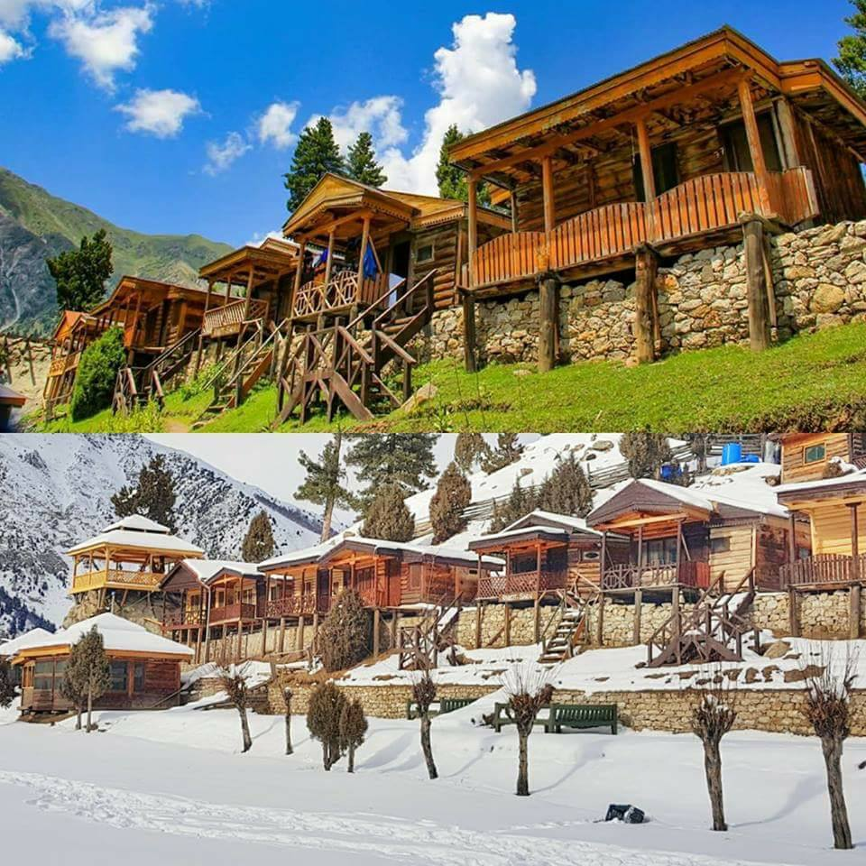 Fairy Meadows in Winter and Summer - Pakistan