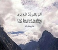 Did he not realise that Allah is watching - Quran Al Alaq-14