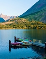 Swiftcurrent Lake Montana USA 20