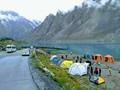 Lake View Camping Site Attabad Lake Hunza - Pakistan